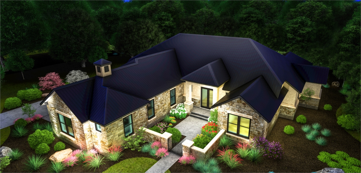 ARIEL NIGHT by DFD House Plans