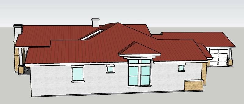 Left Side 2 by DFD House Plans