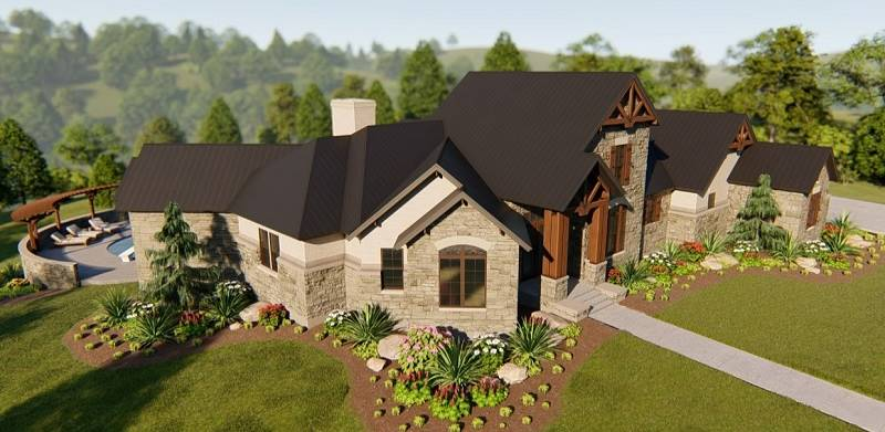 ARIEL LEFT by DFD House Plans