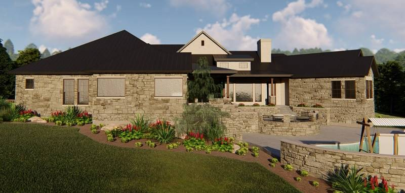 REAR 2 by DFD House Plans