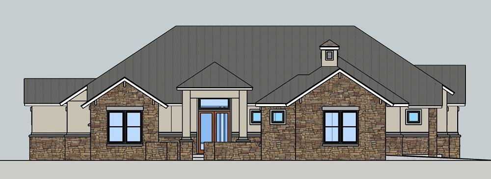 FRONT 1 image of Rose Hill House Plan