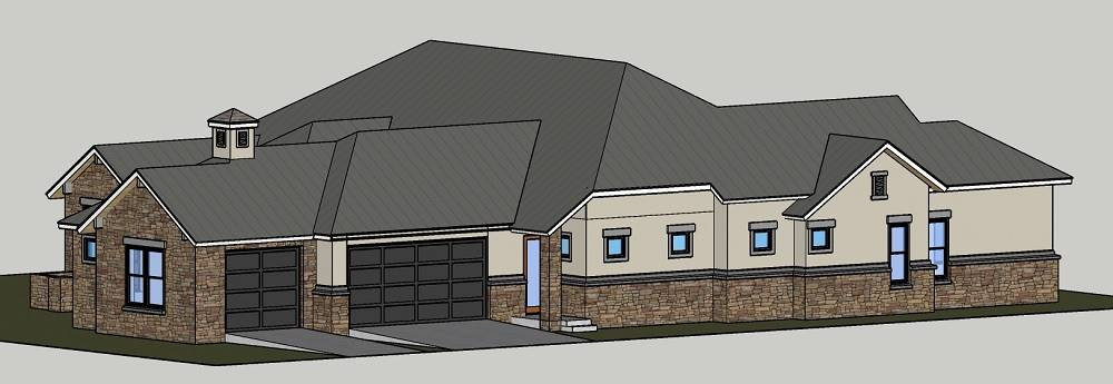 Right Side image of Rose Hill House Plan