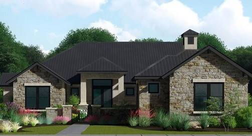 Front image of Rose Hill House Plan