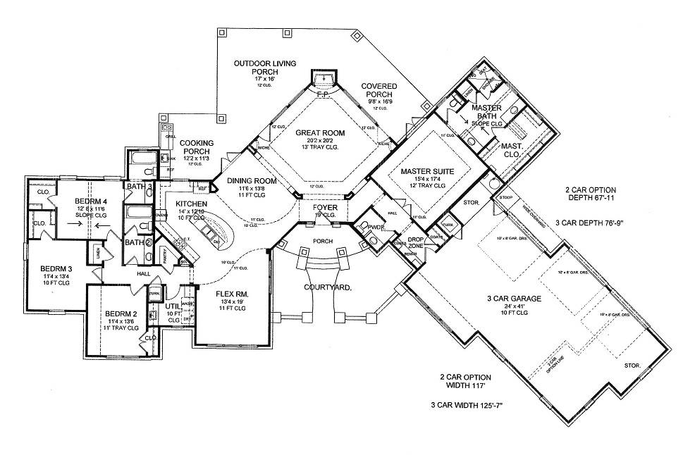 1st Floor image of THE SCOTTSDALE - R House Plan