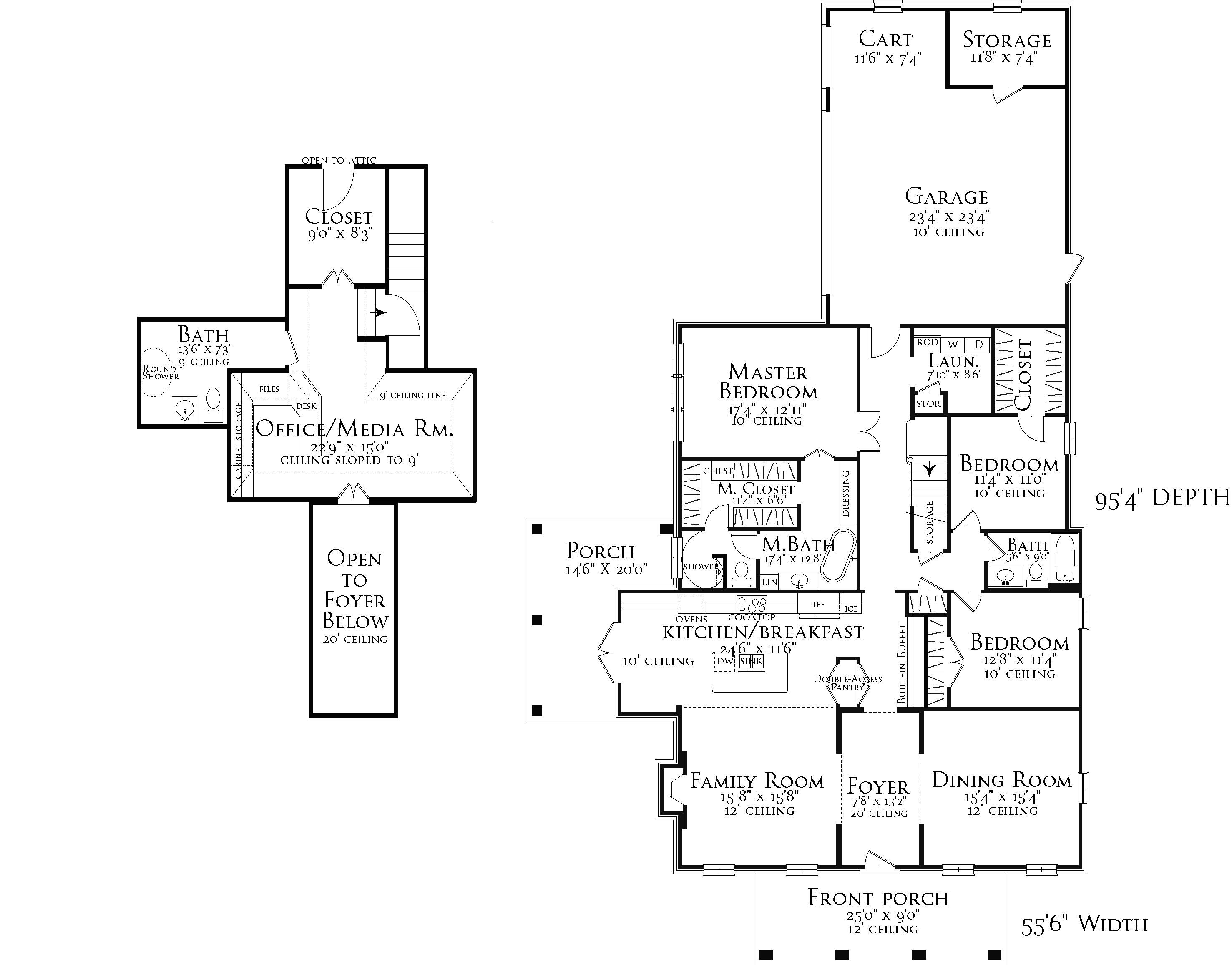 House providence house plan green builder house plans for Builder house plans com