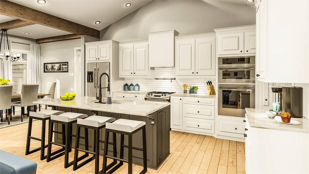 Kitchen image of Blueberry Ridge House Plan