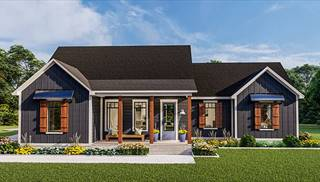 Blueberry Ridge House Plans by DFD House Plans