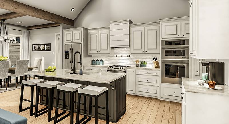 Kitchen image of Blueberry Ridge House Plan