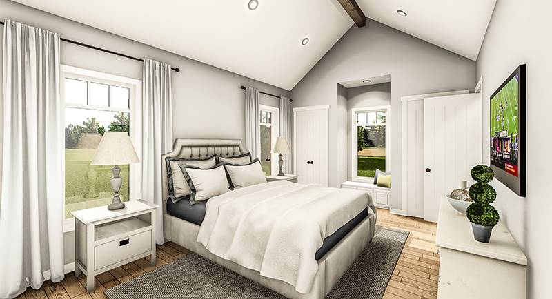 Master Bedroom image of Blueberry Ridge House Plan