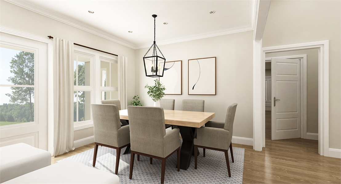 Dining Room image of Stonebrook House Plan