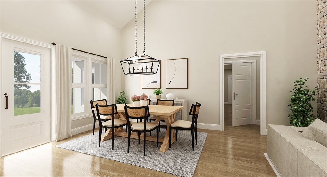Dining Room image of Cloverwood House Plan
