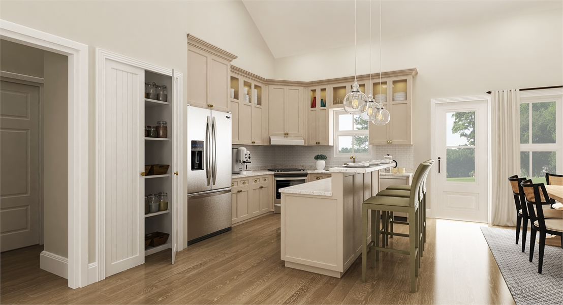 Kitchen image of Cloverwood House Plan