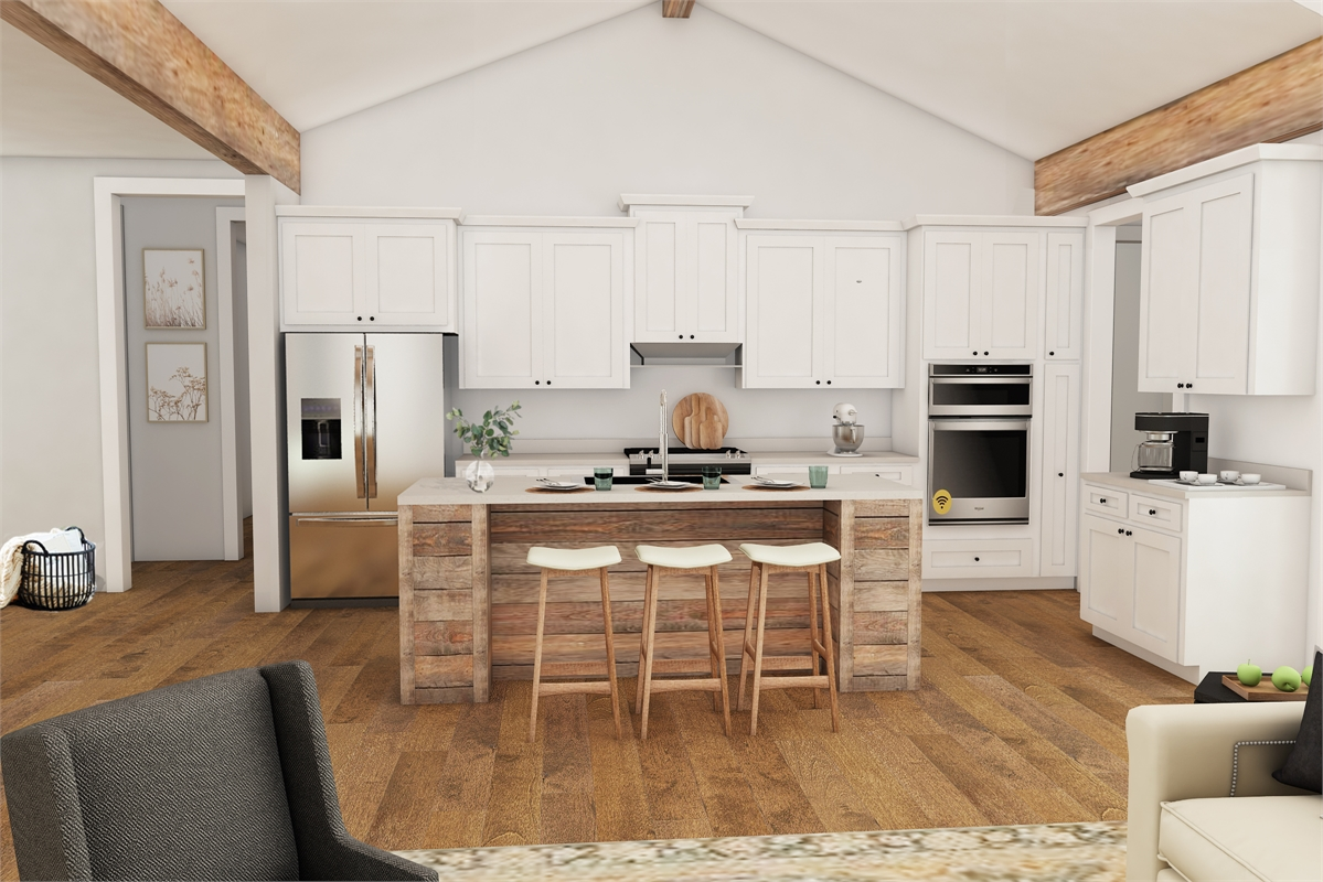 Kitchen image of Daisy Grove House Plan