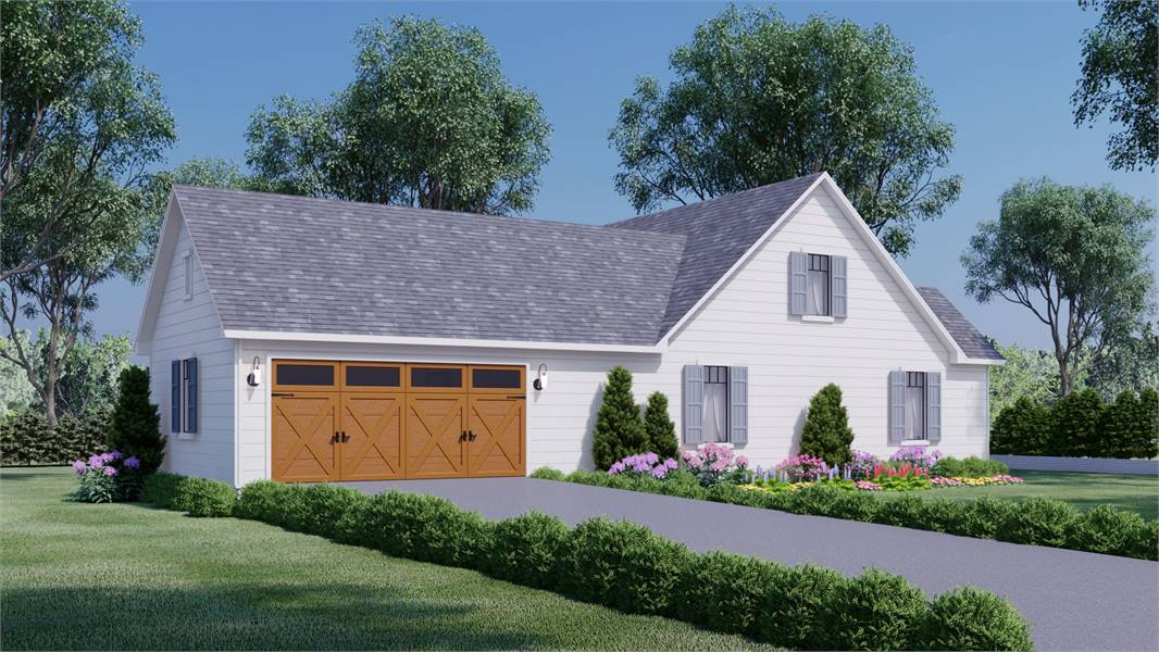 Side View image of Daisy Grove House Plan