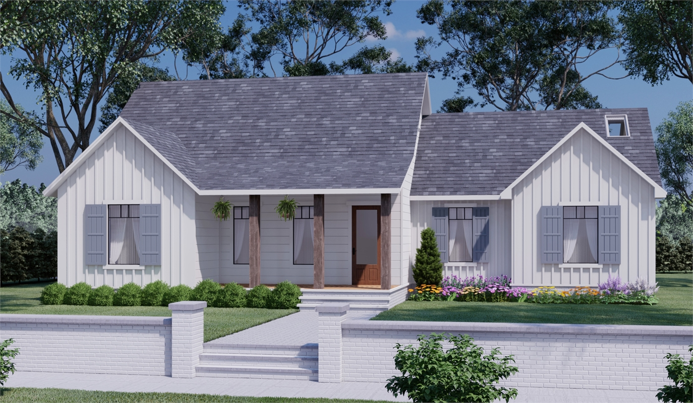 Front View image of Daisy Grove House Plan