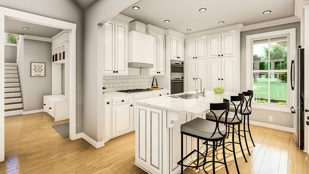 Kitchen image of Treehill House Plan