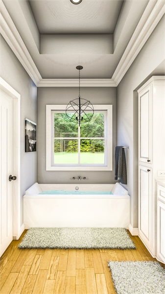 Master Bath image of Treehill House Plan