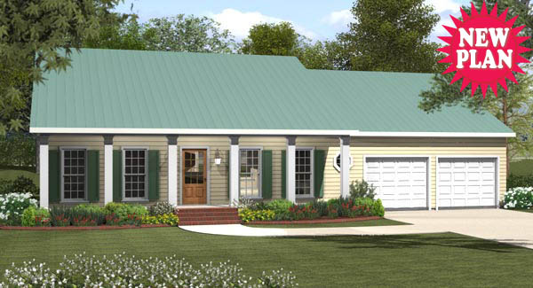 Cottage House Plan with 3 Bedrooms and 2.5 Baths - Plan 8787