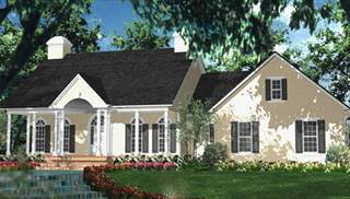 Colonial House Style Plans by DFD House Plans