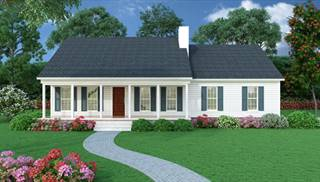 Sutherlin Front Rendering by DFD House Plans