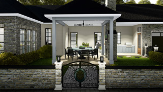 Outdoor Living House Plans