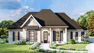 Greystone House Plan by DFD House Plans