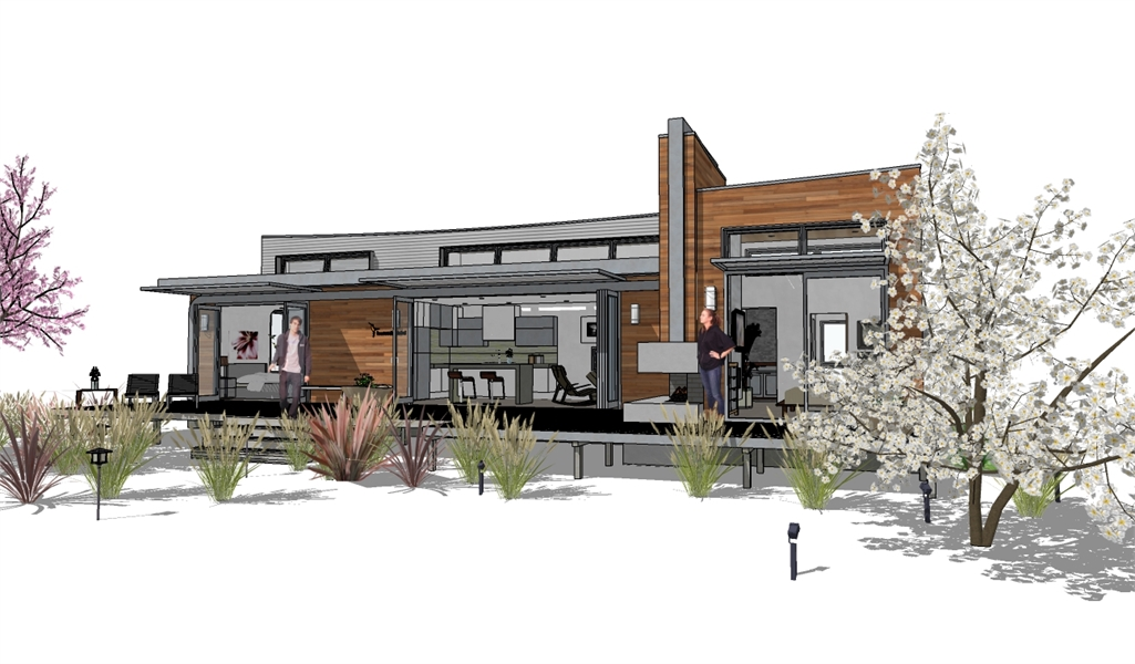 FRONT-PERSP-2 image of Hummingbird-H2 House Plan
