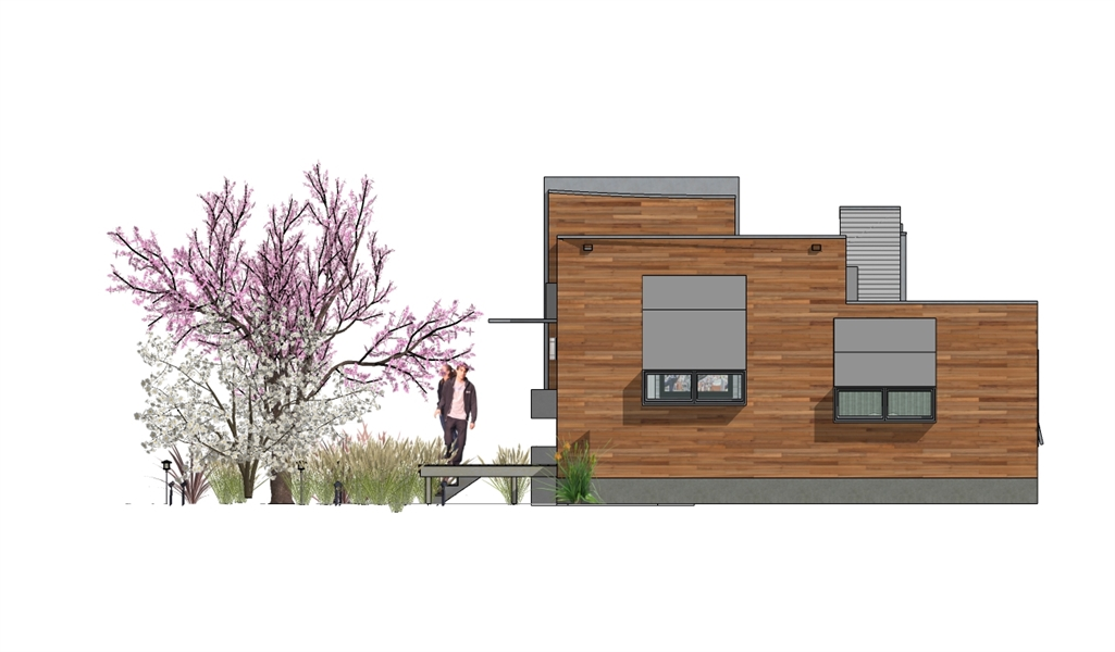 Right Elevation image of Hummingbird-H2 House Plan