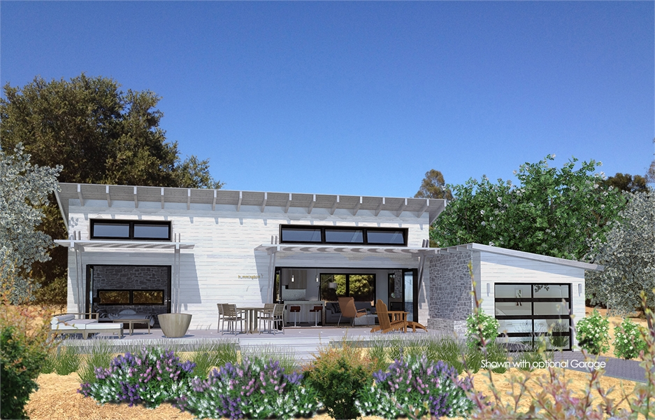 Snowbird-Wht-Front by DFD House Plans