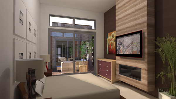 M. Bed-looking across. by DFD House Plans