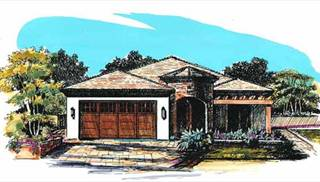 Small Tuscan House Plans by DFD House Plans