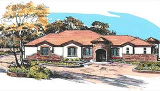 Tuscan Style House Plans by DFD House Plans