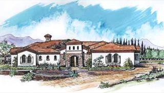 Luxury Tuscan Floor Plans by DFD House Plans