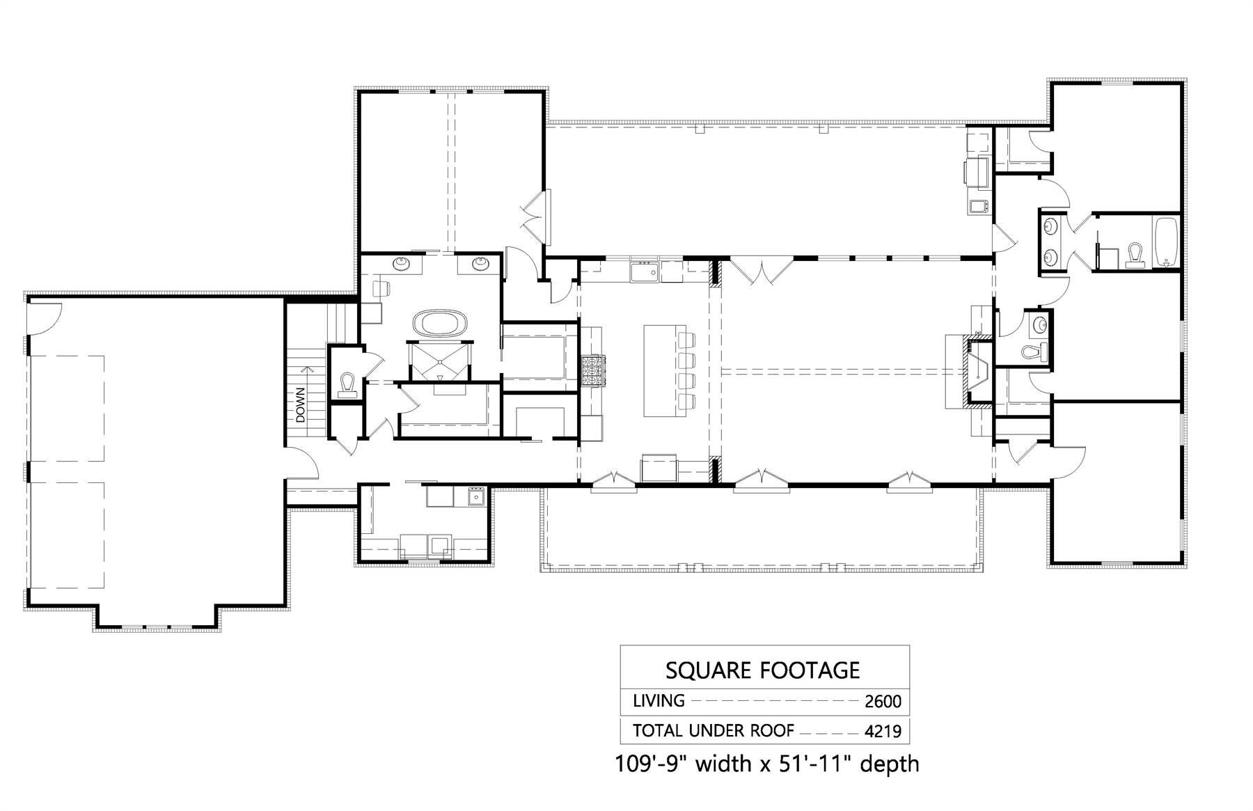 Basement Option Floor Plan