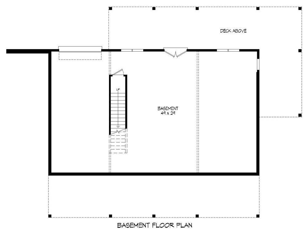 Basement image of Plan 7519