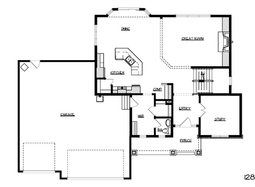 Colonial House Plan with 3 Bedrooms and 2.5 Baths - Plan 1051 on narrow bungalow house plans, narrow minimalist house plans, narrow english house plans, narrow lot house plans, shallow lot house plans, narrow coastal house plans, narrow one story house plans, narrow lakefront house plans, narrow row house plans, narrow low country house plans, narrow duplex house plans, narrow modern house plans, narrow studio house plans, narrow craftsman house plans, narrow mediterranean house plans, narrow split-level house plans, narrow beach house plans, narrow brick house plans, one story duplex house plans,
