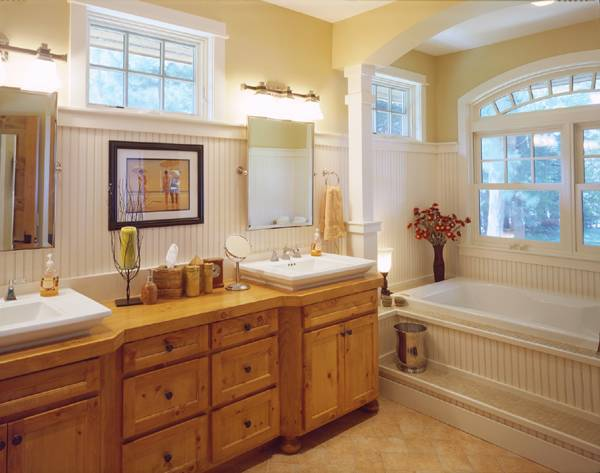 Owners' Bathroom by DFD House Plans