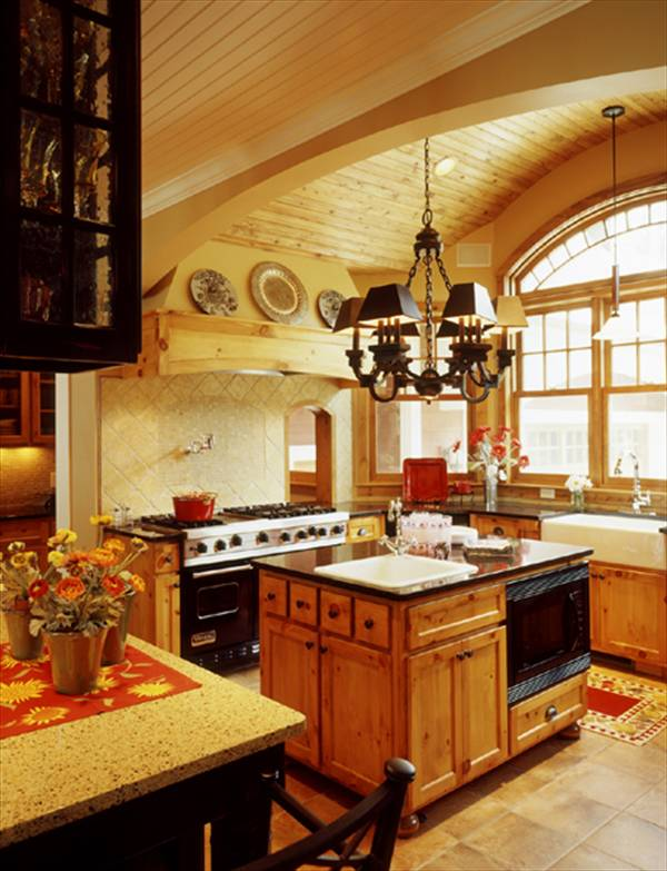 Kitchen/Breakfast Room by DFD House Plans
