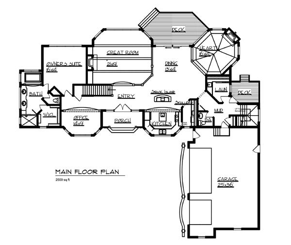 House The Gull Lake House Plan Green Builder House Plans