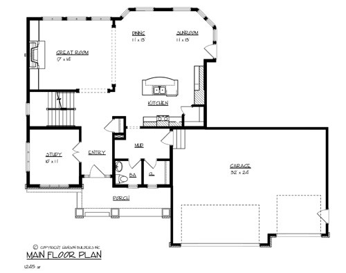 House The Canadian House Plan Green Builder House Plans
