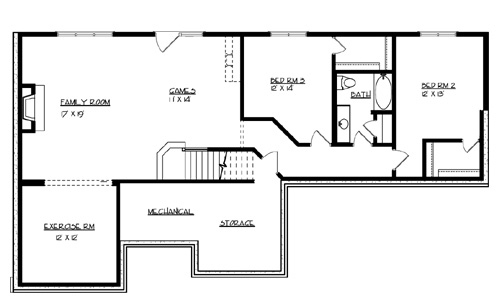 House the sunset lake house plan green builder house plans for Ron lee homes floor plans