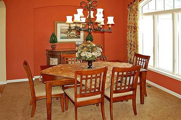 Dining Room from Kitchen by DFD House Plans