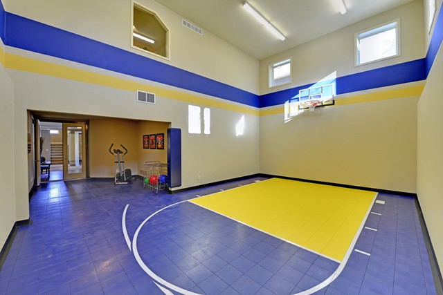 Indoor Sports Court by DFD House Plans