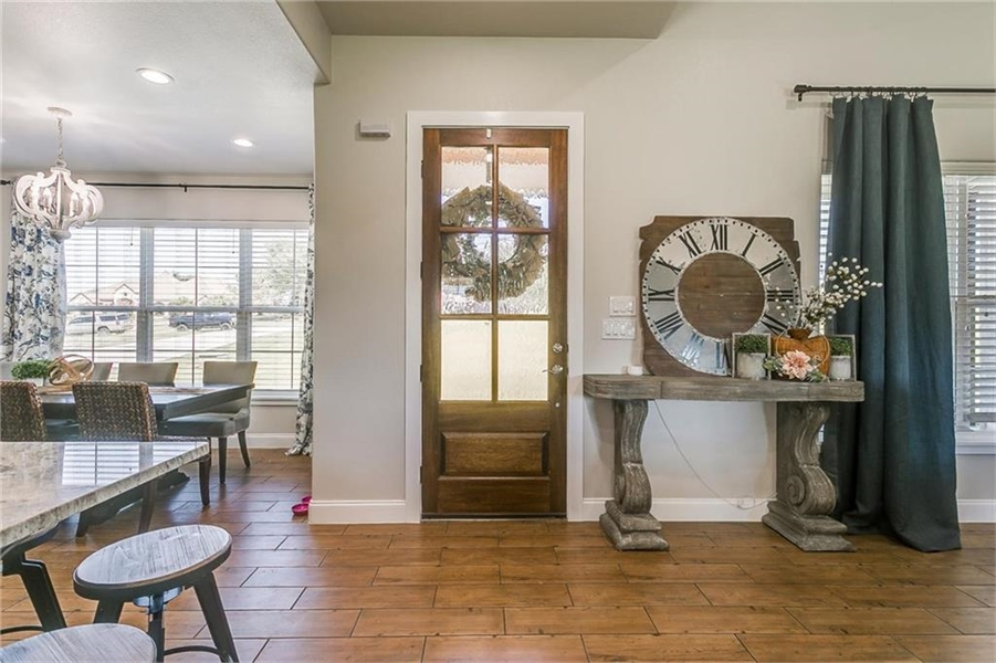 Inside Entry Way by DFD House Plans