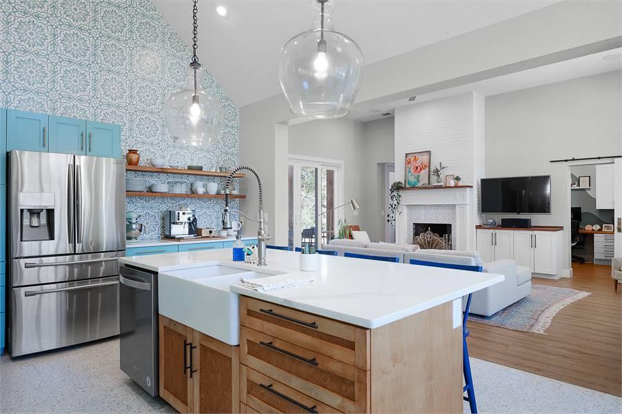 Kitchen Featuring Whirlpool® and KitchenAid®