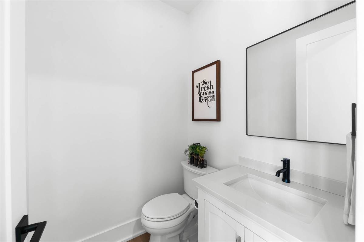 Powder Room image of The Durham House Plan