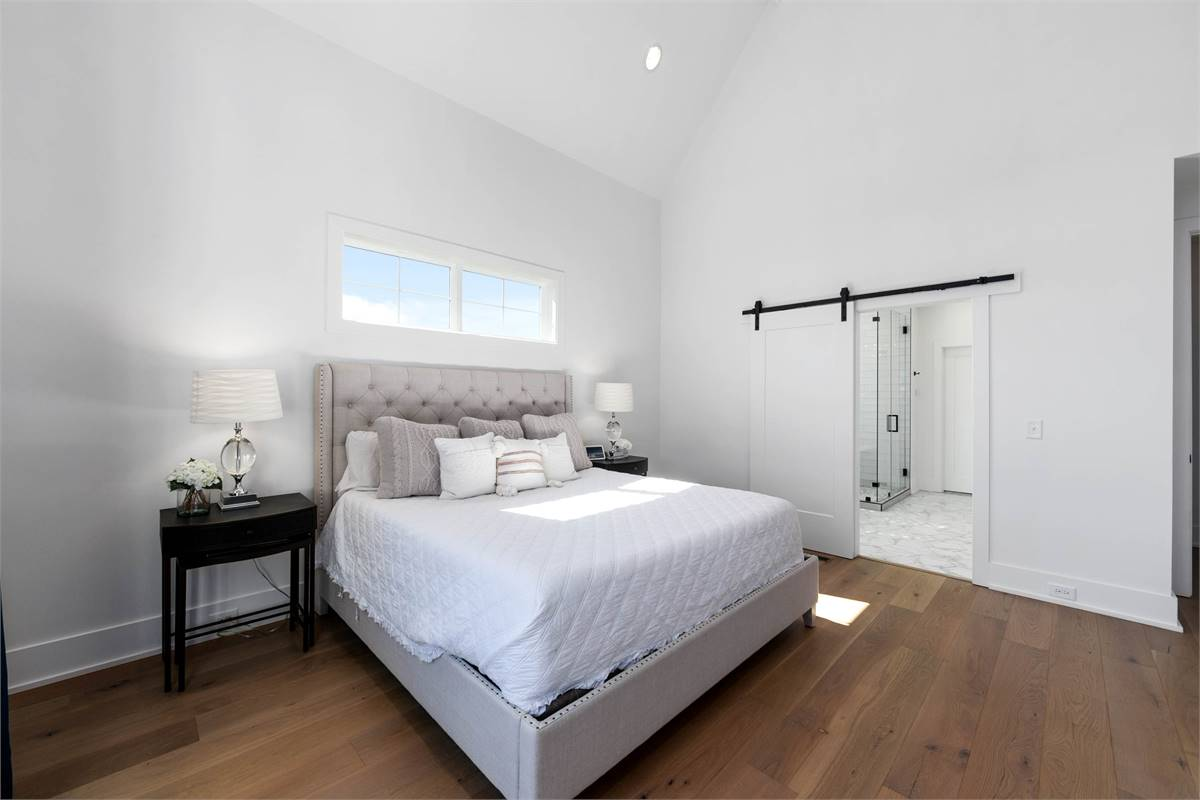 Master Bedroom image of The Durham House Plan