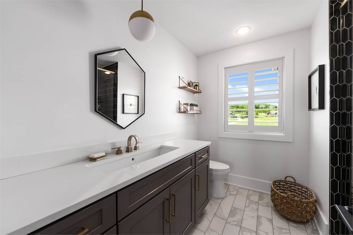 Shared Bathroom image of The Durham House Plan