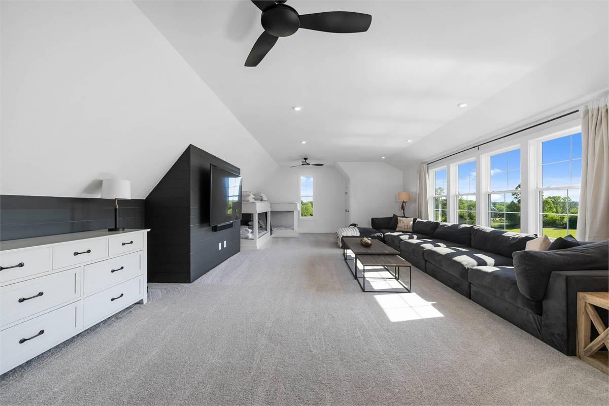 Bonus Room image of The Durham House Plan