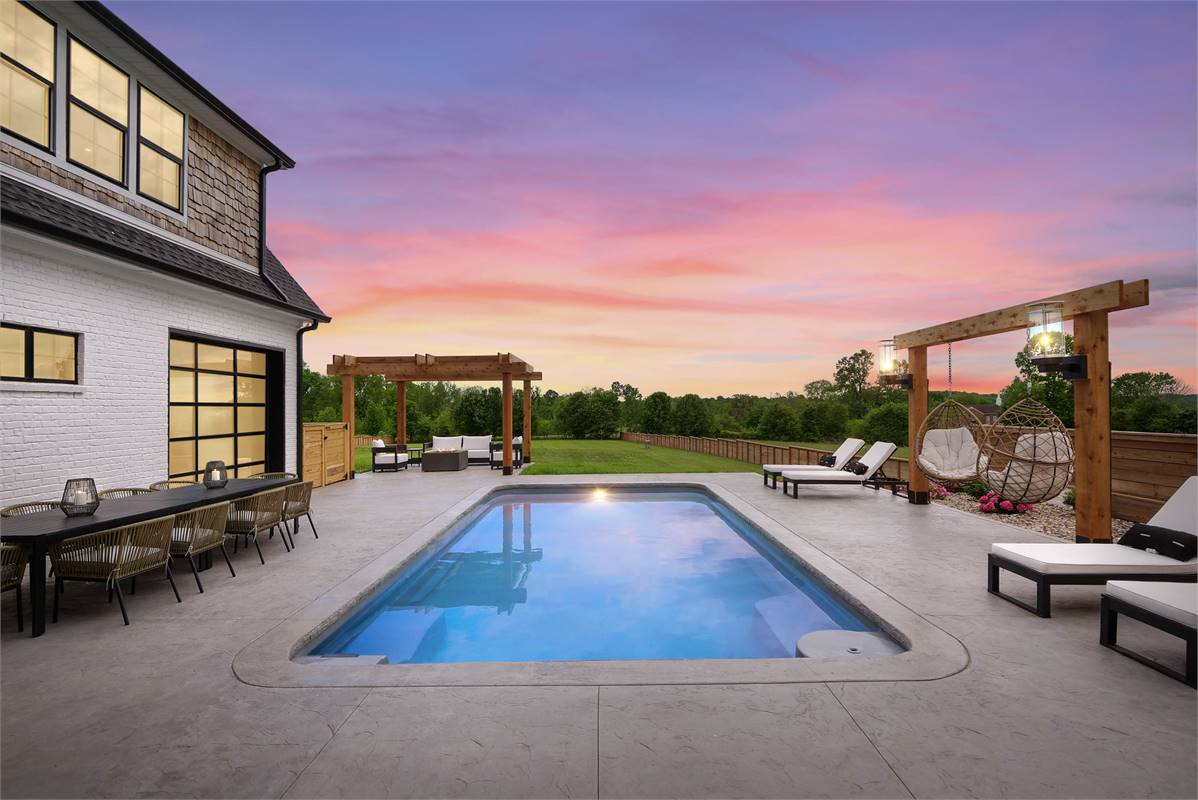 Outdoor Living image of The Durham House Plan